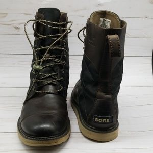 SOREL MADSON TALL LACE MEN'S BOOTS